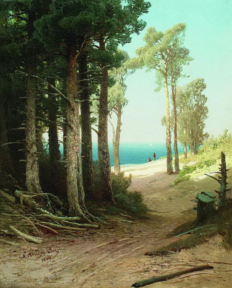 俄罗斯古典风景油画图片大全_俄罗斯古典风景油画 纯手绘油