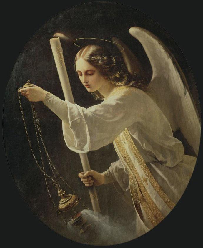 异国画苑(903)法国女画家路易·埃尔桑(Louis Hersent)作品 - 笑然 - xiaoran321456 的博客