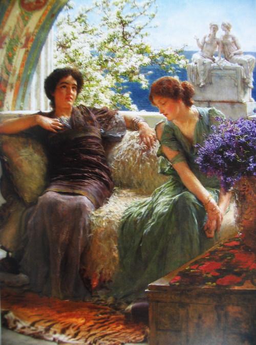 欧洲19世纪绘画精品展 古典与唯美 高清图片