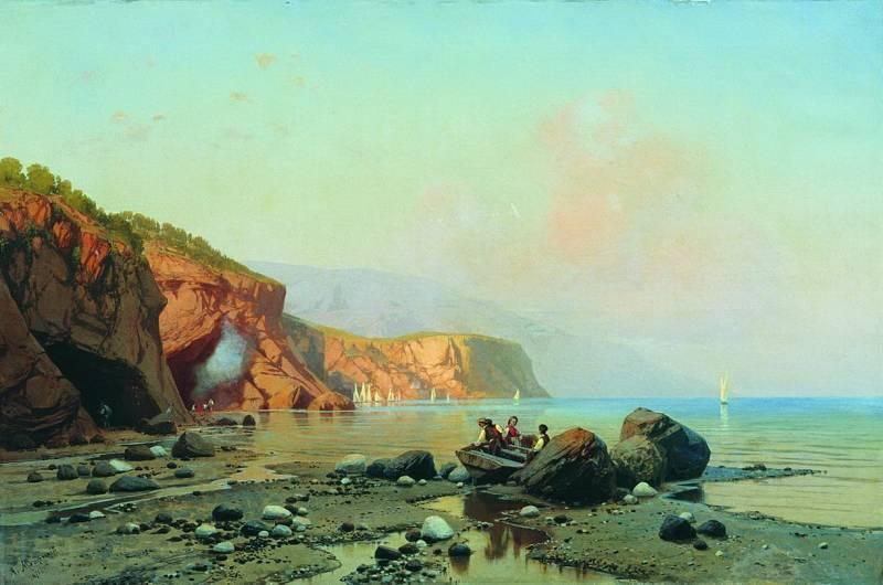 俄罗斯古典风景油画